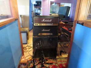 Brian Boggess Recording Session Amp Marshall