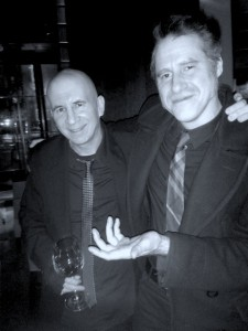 Jon Davis and Brian Boggess at Measure Lounge NYC
